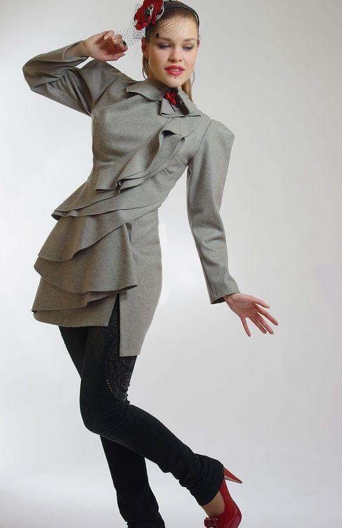 Женская стильная одежда дизайнерская одежда 173