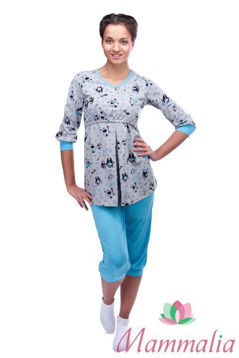 Стильная одежда для сна для беременных 588