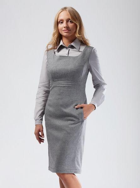 Платье сарафан 1 079 к на большую грудь