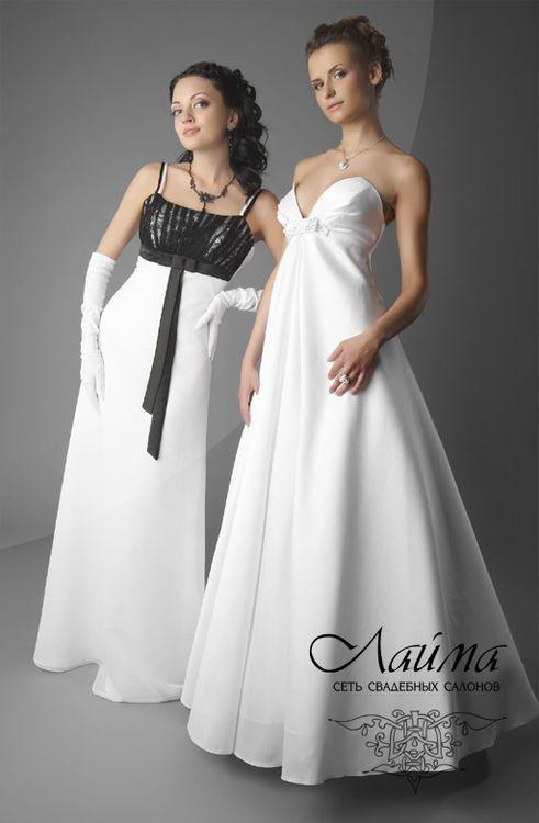 Свадебное платье наоми слева